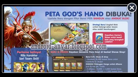 Cara membuka peta Gods Hand Map Get Rich