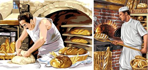 Héraldie Le Pain Et Le Métier De Boulanger En Héraldique
