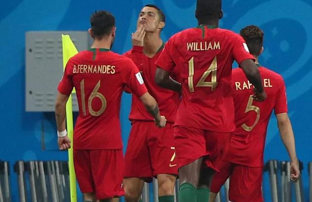 No empate memorável entre Espanha e Portugal, Cristiano Ronaldo saiu vencedor