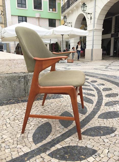 cadeira, nórdica, design nórdico, vintage
