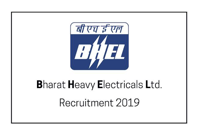 Latest BHEL Recruitment (2019) - for Engineering/Executive Trainee 145 Jobs
