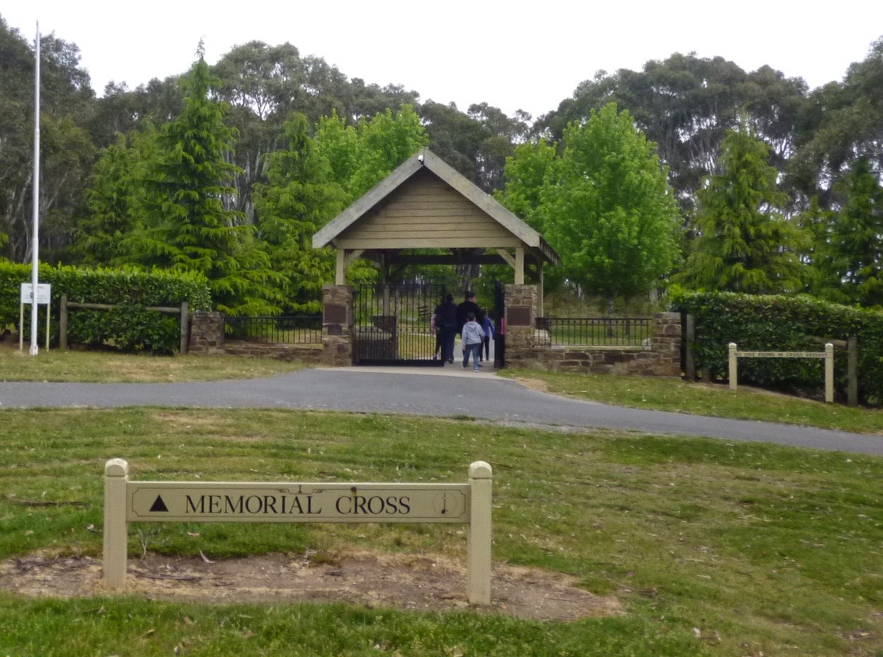 Mount Macedon Memorial Cross Gate