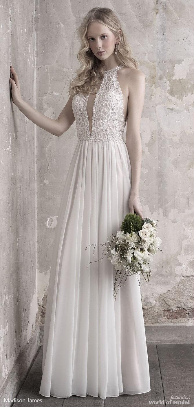 Madison James Fall 2018 Wedding Dresses - World of Bridal