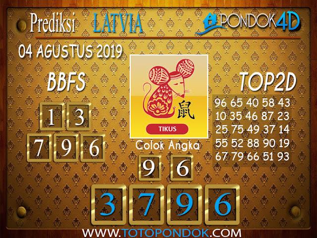 Prediksi Togel LATVIA POOLS PONDOK4D 04 AGUSTUS 2019