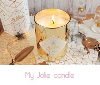 My Jolie candle Gold Edition  La bougie bijou