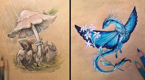 00-Fantasy-Creatures-Alvia-Alcedo-www-designstack-co