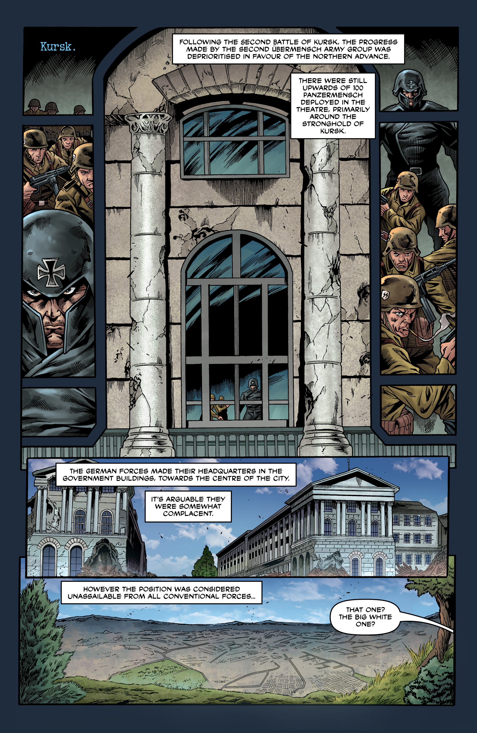 Read online Uber comic -  Issue #20 - 24