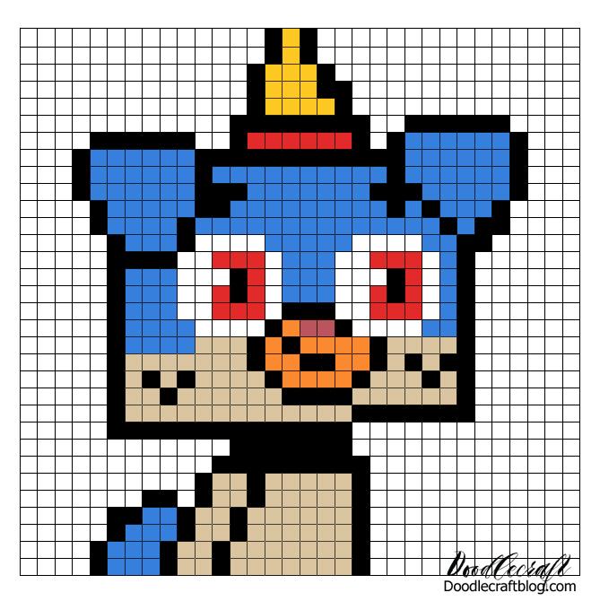 Lego Unikitty Puppycorn Pixel Wall Art With Free Patterns