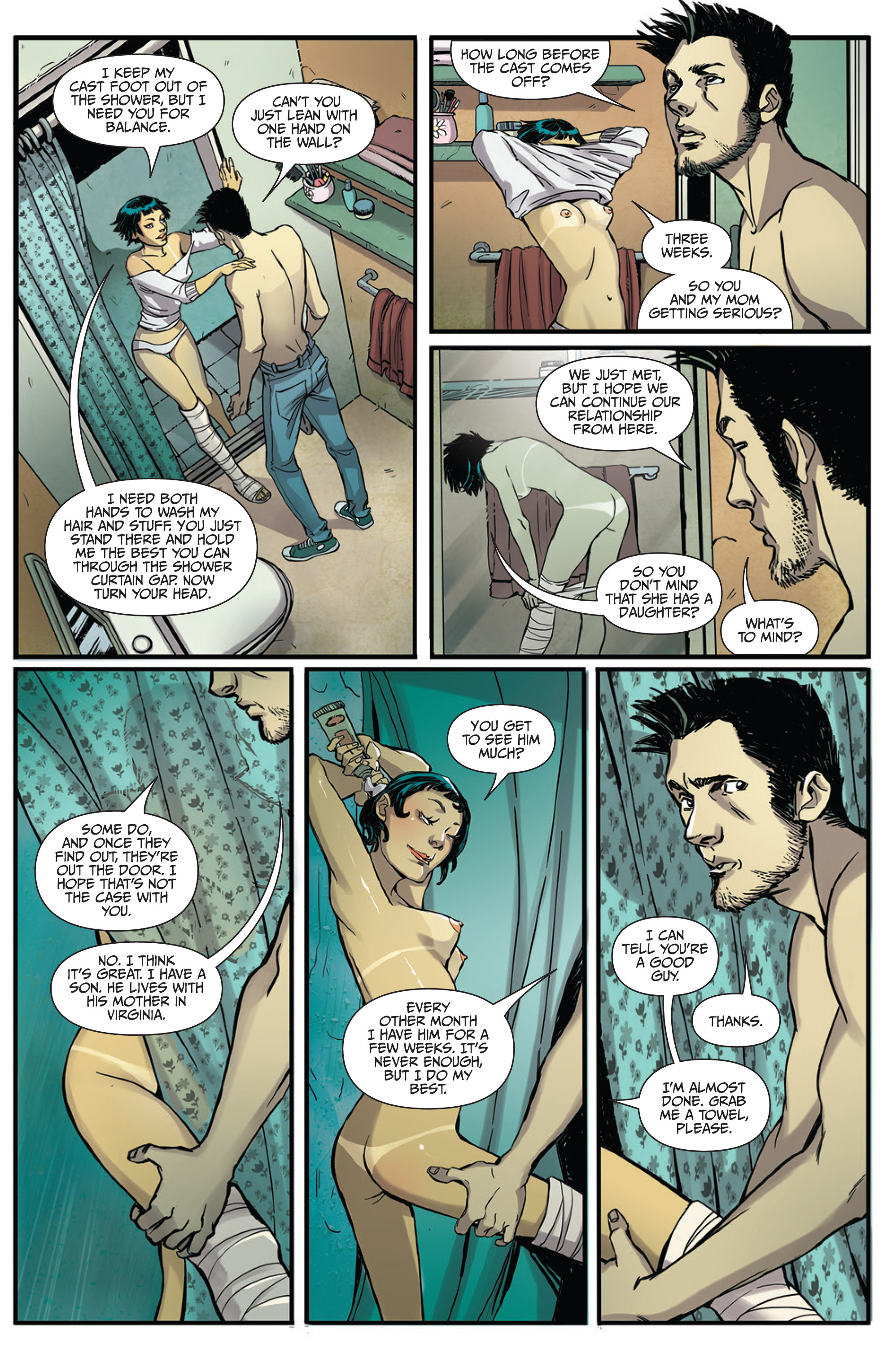 Read online Sex and Violence Vol. 2 comic -  Issue # Full - 8