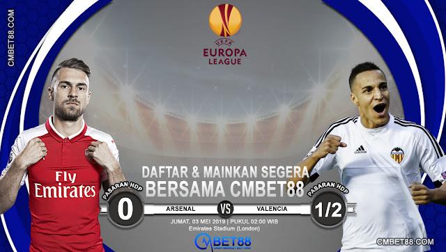 Prediksi Bola Arsenal VS Valencia