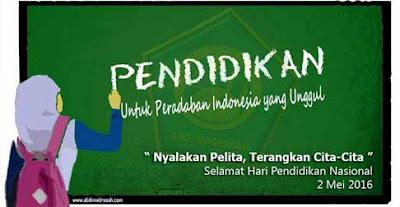 Hari Pendidikan Nasional Tahun 2016