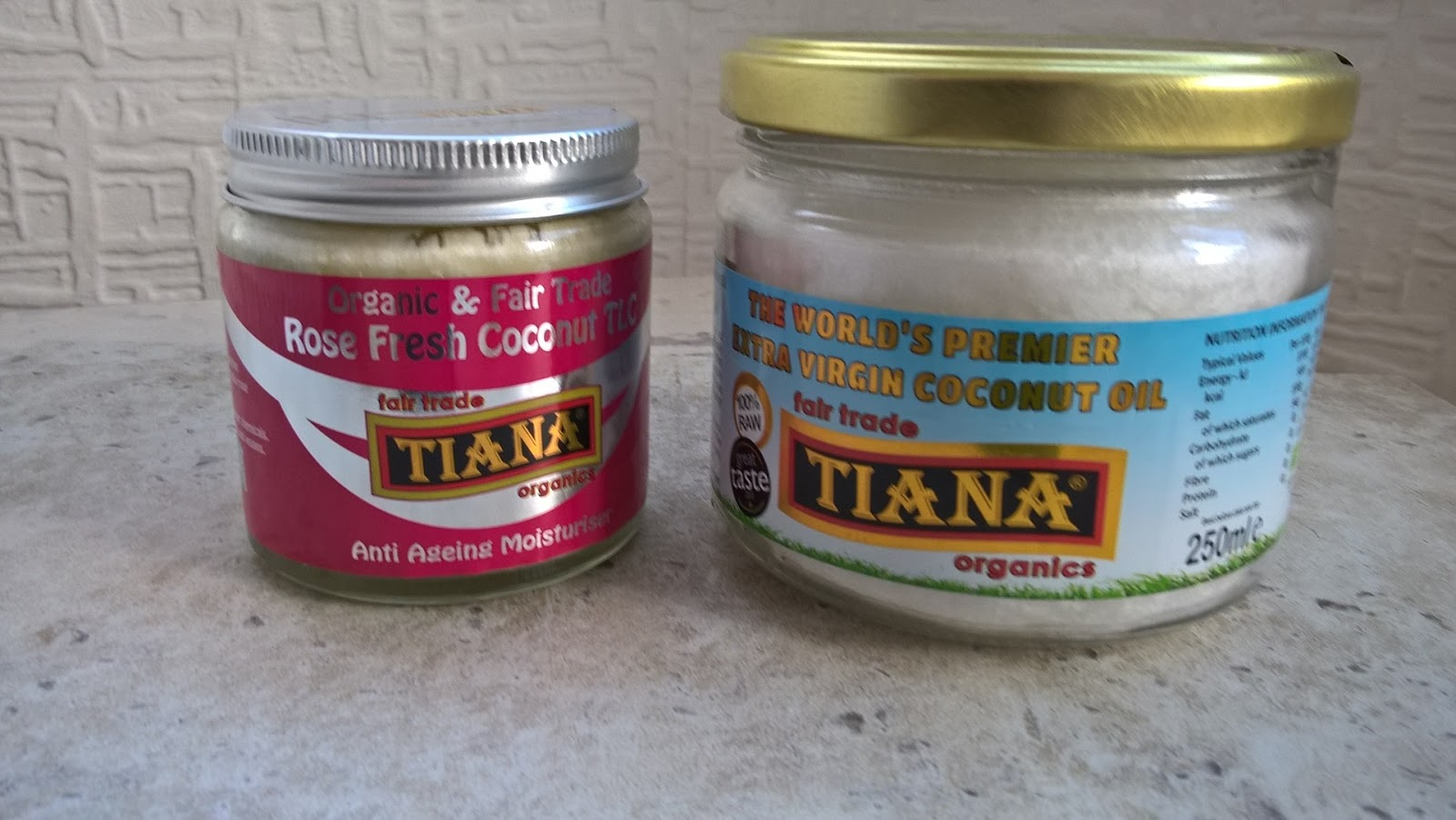 Tiana Extra Virgin Coconut Oil & Rose Fresh TLC Anti Ageing Moisturiser - Health - motherdistracted.co.uk