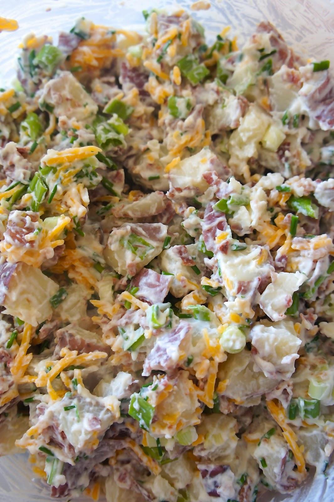Savory Sweet and Satisfying: Loaded Potato Salad