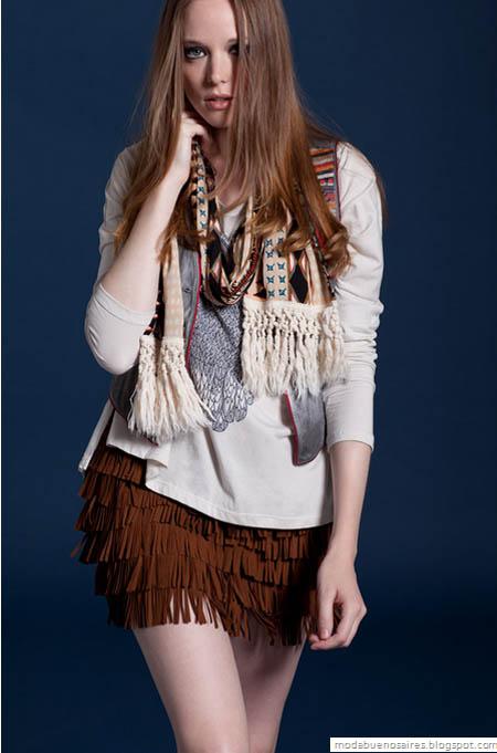 426d828031 Wanama colección otoño invierno 2012 Lookbook. Te presentamos los looks que  propone Wanama colección otoño invierno 2012. Estilo urban folk en una  propuesta ...