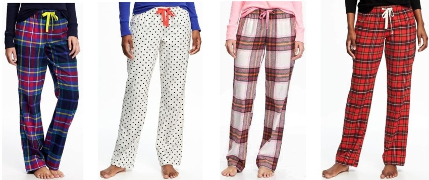 Old Navy Flannel Drawstring Sleep Pants for only $5 (reg $17)