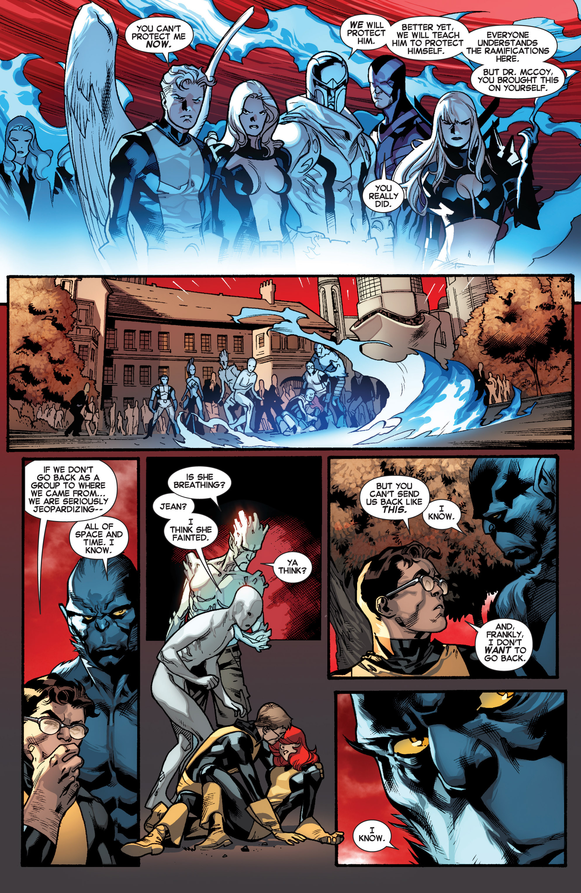 Read online All-New X-Men (2013) comic -  Issue # _Special - Out Of Their Depth - 14