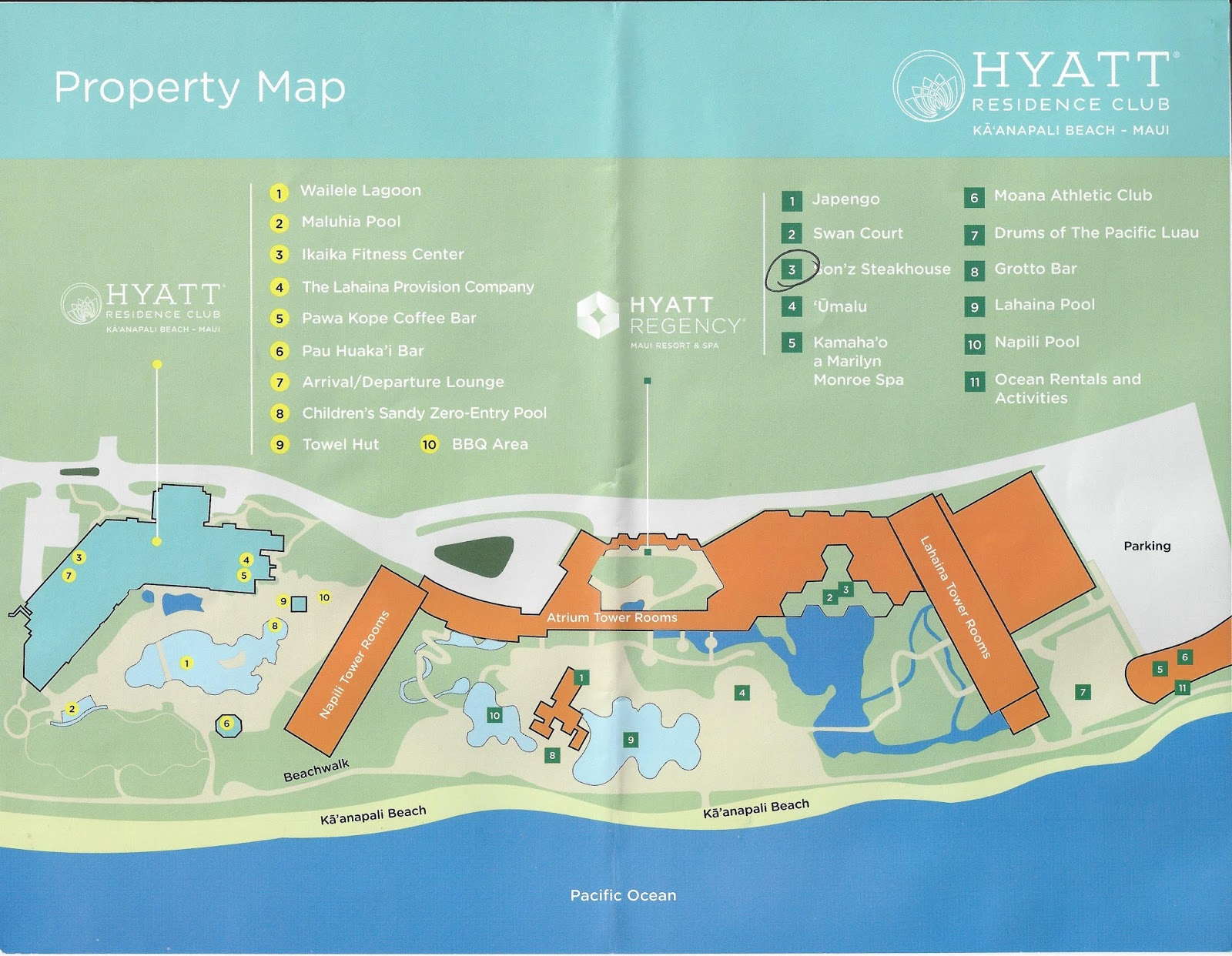 The Only Parking Option At Hyatt Residence Club Is Through Valet Which Provided Free Of Charge For Owners