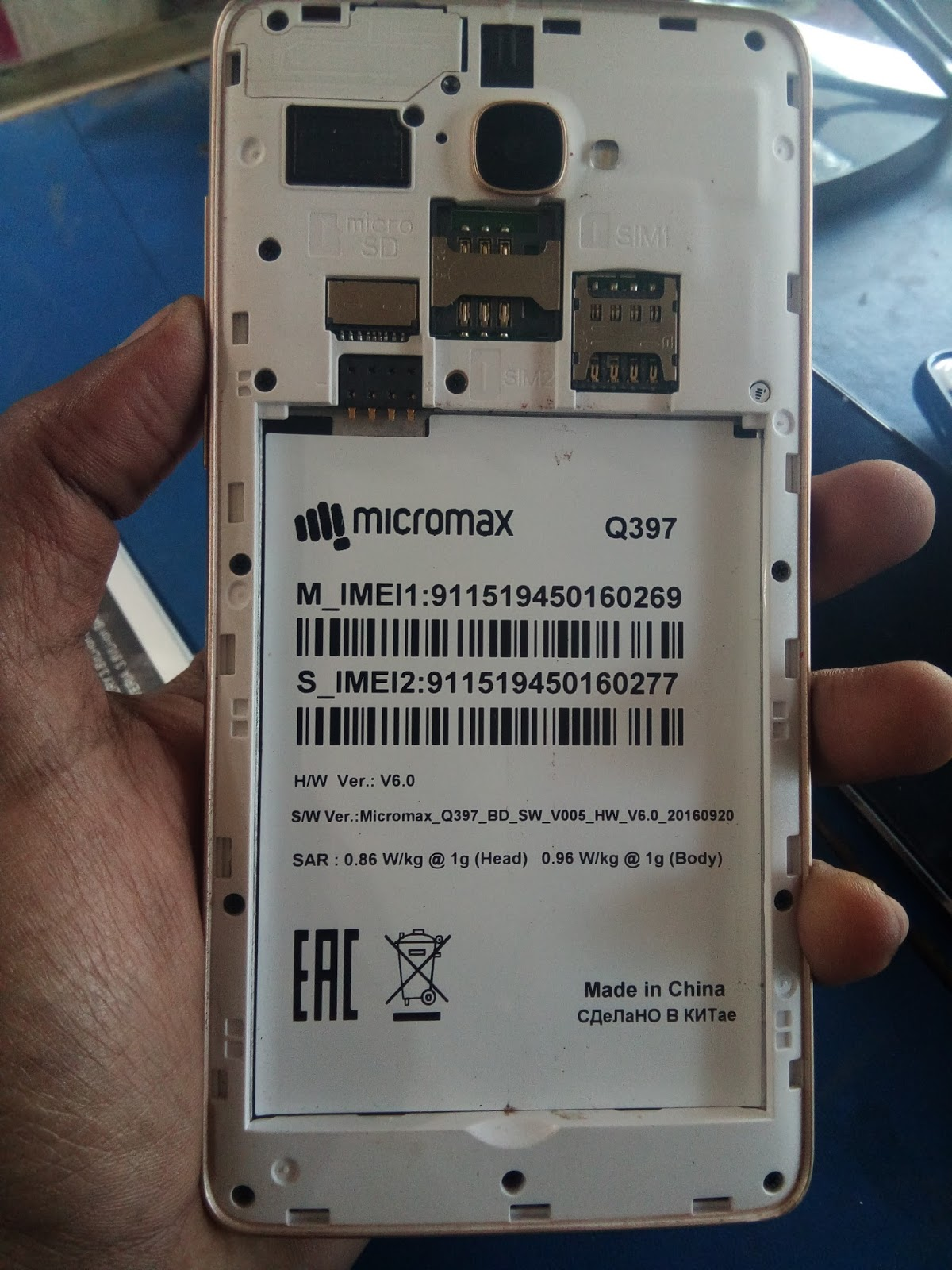 Micromax B5 Flash File V06