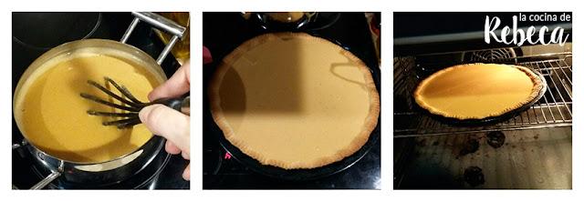 Receta de pastel de calabaza (pumpkin pie) 05