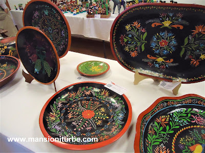 Craft Contest in Uruapan Michoacán during the Palm Sunday Artisan Fair