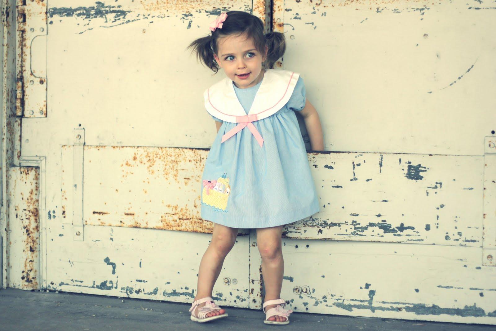 Hart  Sew  Vintage Baby Clothing Little Vintage Style V15-6003