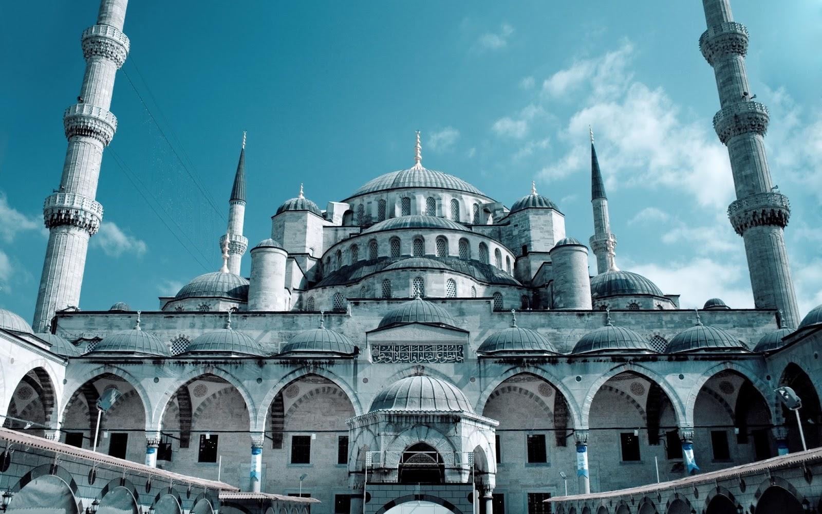 download wallpaper islami gambar masjid terindah resolusi