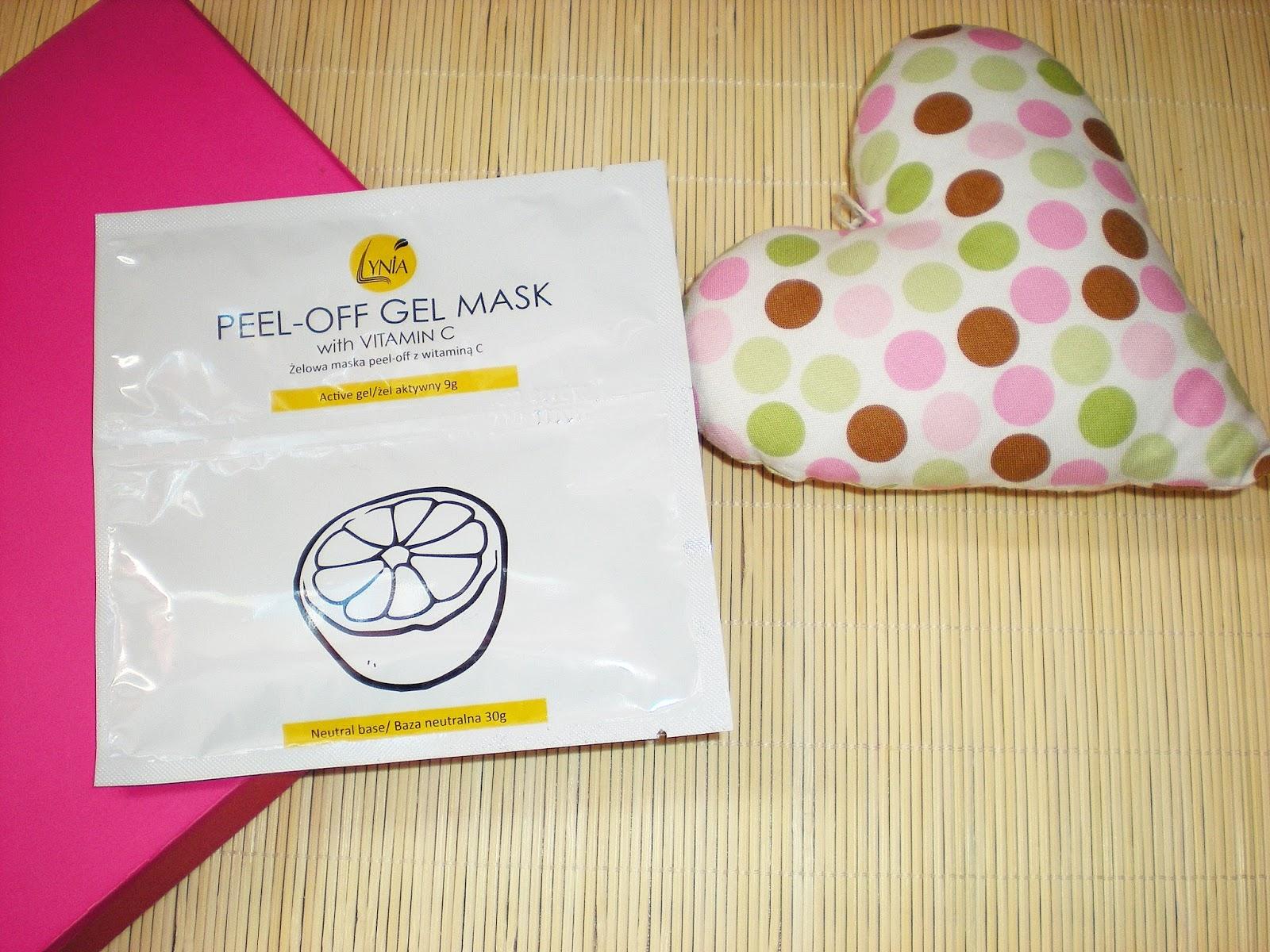 Maska algowa peel-off w żelu z witaminą C