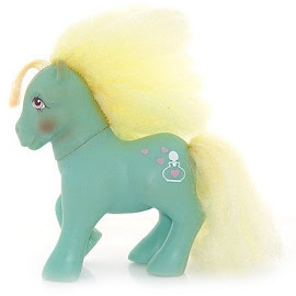 MLP Daisy Sweet Year Seven Perfume Puff Ponies G1 Pony