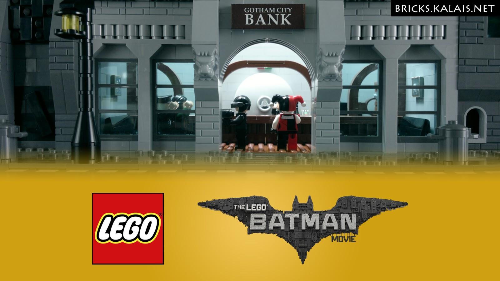 [Brickfilm] Harley Quinn robs a Gotham Bank