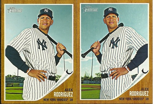 All About Sports Cards Complete List Of 2011 Topps Heritage