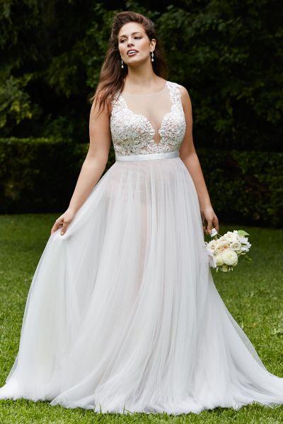 vestidos de novia para gorditas boda civil