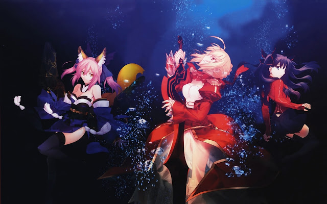 Fate/Extra Last Encore: Nuevo tráiler del anime