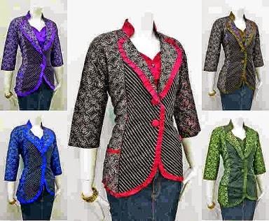 Model Baju Batik Wanita Untuk Kerja Hot Girls Wallpaper