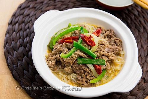 沙爹牛肉粉絲煲 Satay Beef with Vermicelli Noodles02
