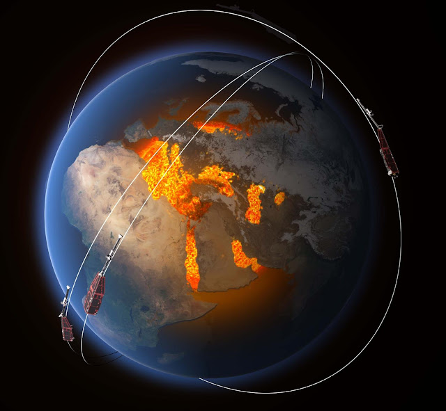 Earth's magnetic heartbeat