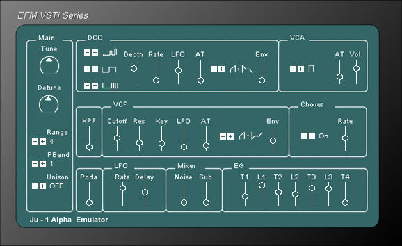 "Alpha ""Juno"" - Free VST Vintage Synthesizers"