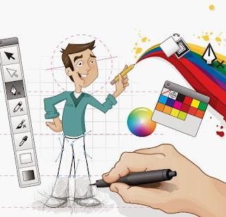 Gaji Belasan Juta Nyambi Jadi Desainer Grafis
