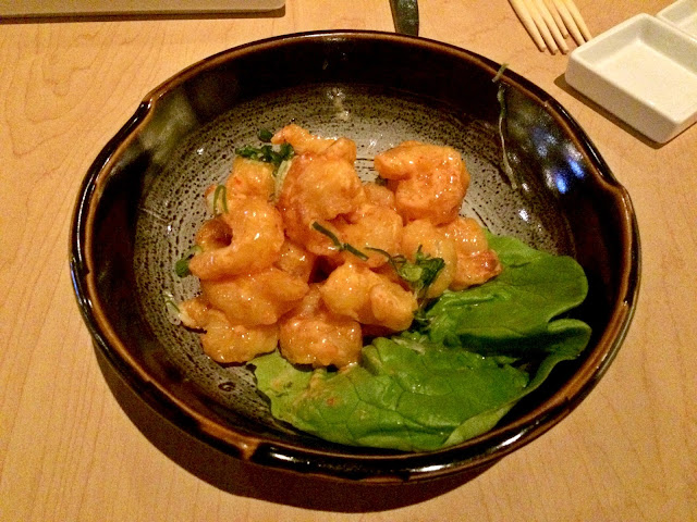 Creamy Rock Shrimp, Katsuya by Stark, Avenues Mall, Kuwait