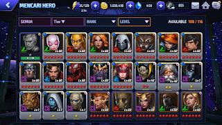 Cara mendapatkan hero gratis di marvel future fight