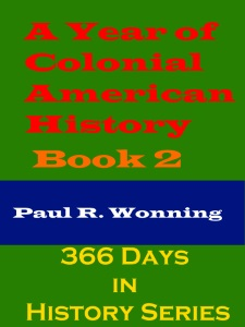 A Year of Colonial American History Stories - Book 2