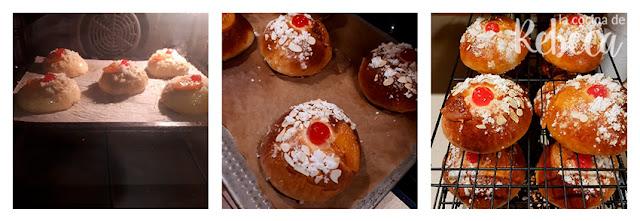 Receta de roscón de Reyes: horneado y enfriado