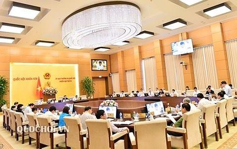 Phiên họp 28 của Uỷ ban Thường vụ Quốc hội