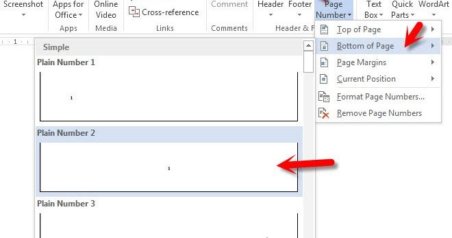 Aturan Dan Cara Penomoran Halaman Karya Ilmiah Skripsi Makalah Tesis Di Ms Word Panduan Ms Office