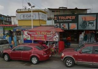 """""""Levantan"""" al hijo del dueño de taquería """"El Paysa"""" en Minatitlán Veracruz"""