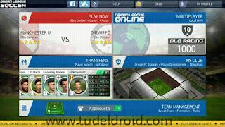 Home Screen Dream League Soccer