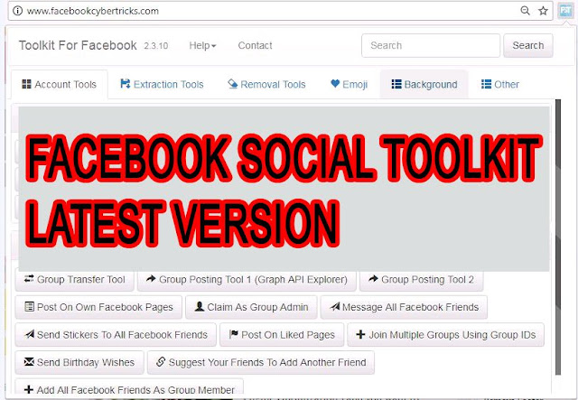 Download Facebook Social ToolKit