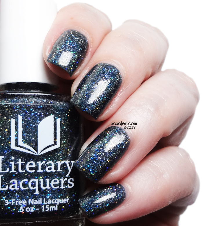xoxoJen's swatch of Literary Lacquers Starfall