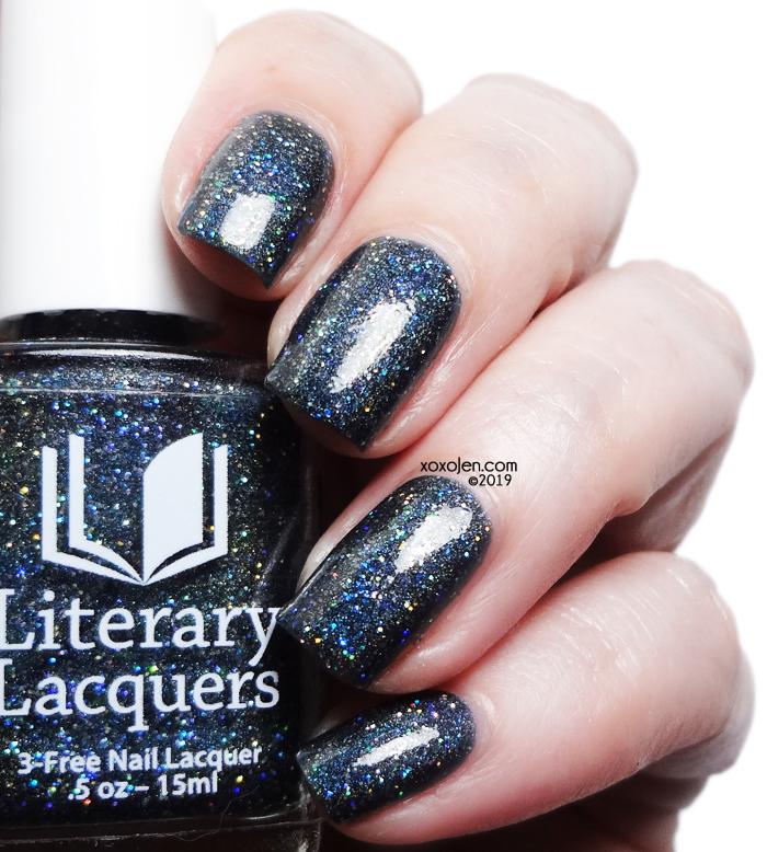 xoxoJen's swatch of Literary Lacquers Starfall