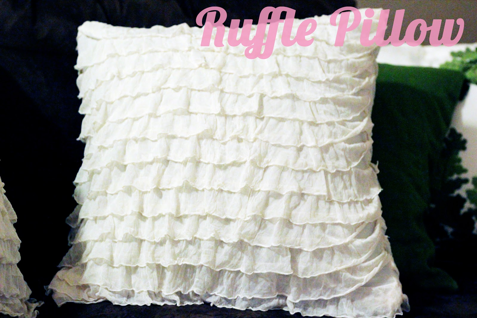 Ruffle Pillows | Oopsey Daisy