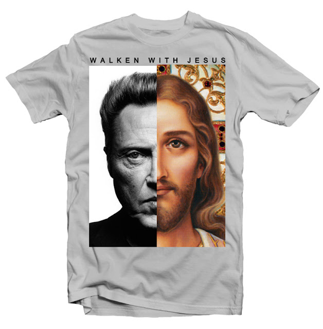 walken with jesus tshirt